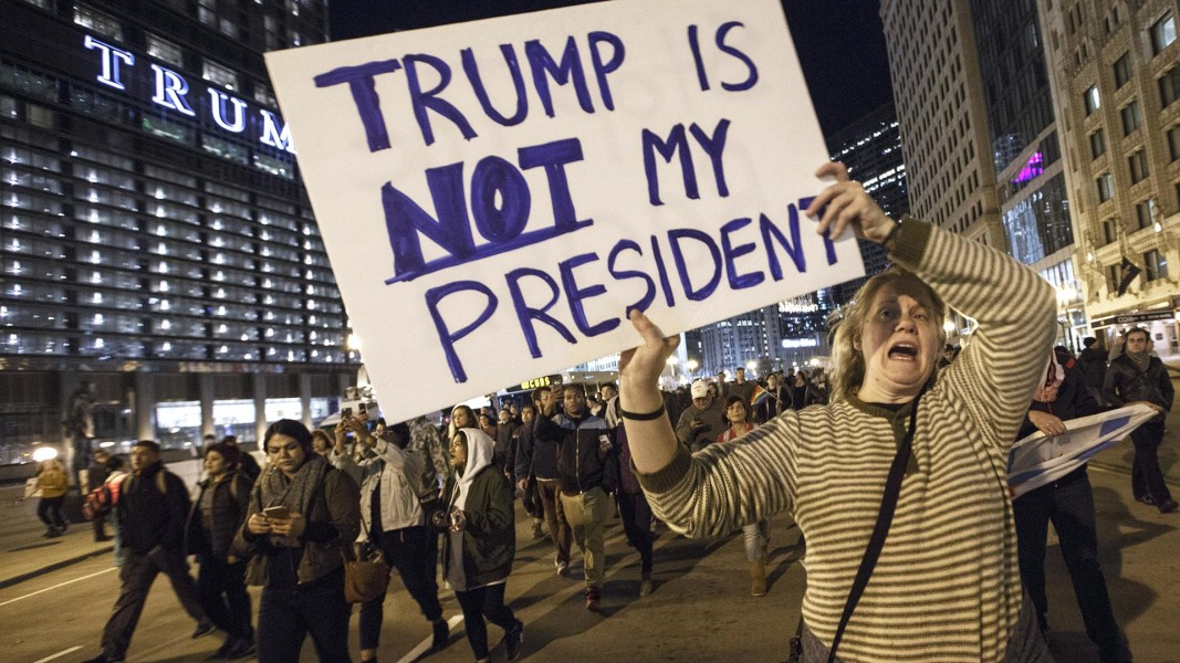 Donald Trump Win Leads To Street Protests Across US NBC News - Anti trump protests map of cities in us