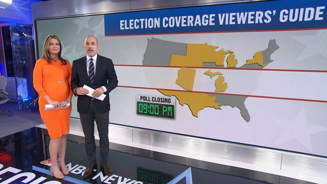 How To Watch And Follow NBC News Election Day Coverage NBC News - Us election nbc map