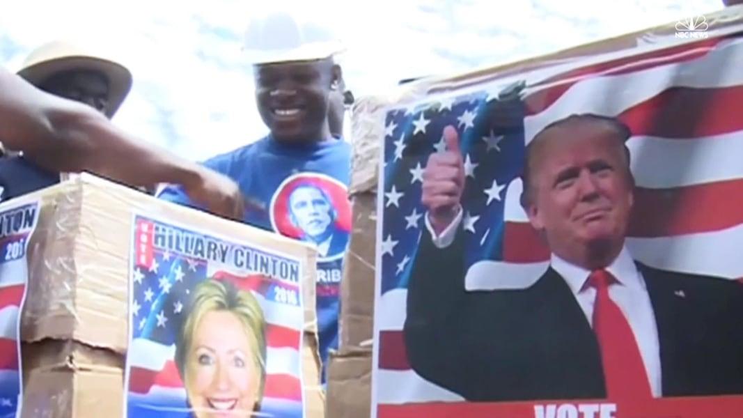 Obama Father S Kenyan Hometown Holds Mock Us Election