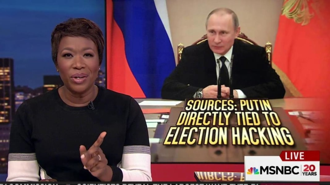 US Officials Putin Personally Involved In US Election Hack - Us election nbc map