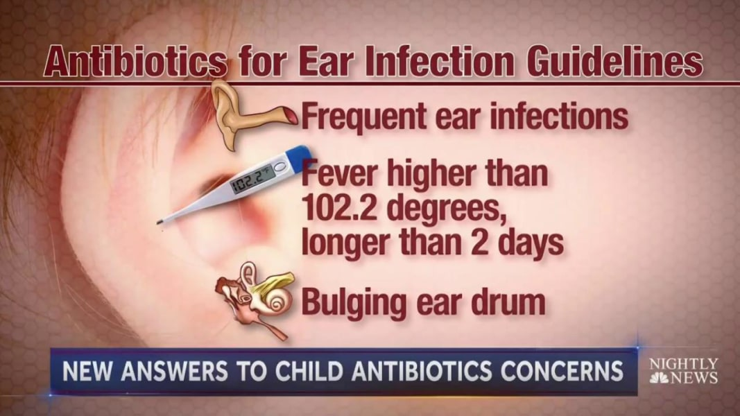 Infant ear infections need full antibiotic course
