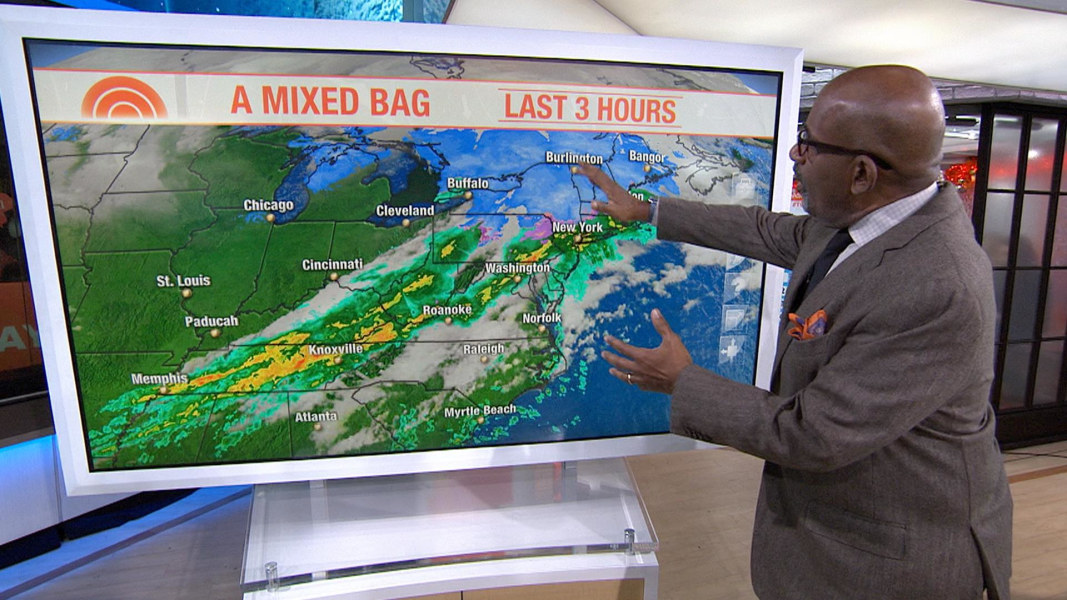 Al Roker S Winter Storm Forecast Get Ready It S About To Get Even