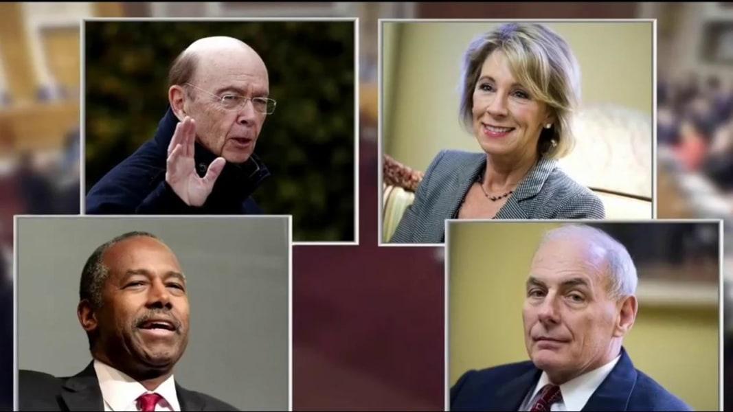hearings trumps cabinet