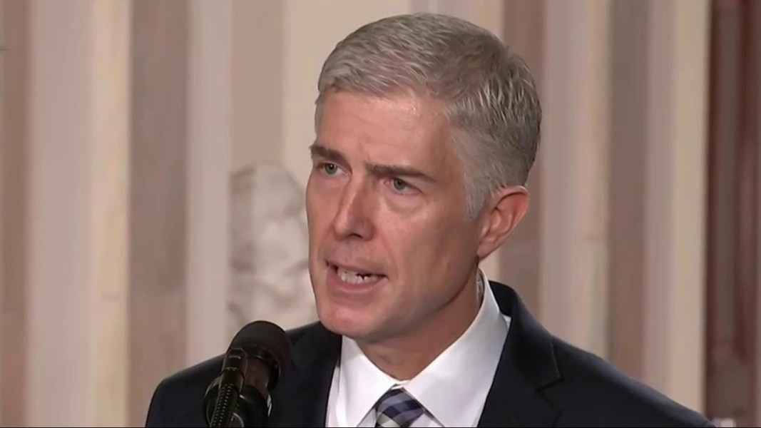 news meet americas newest supreme court justice judge neil gorsuch