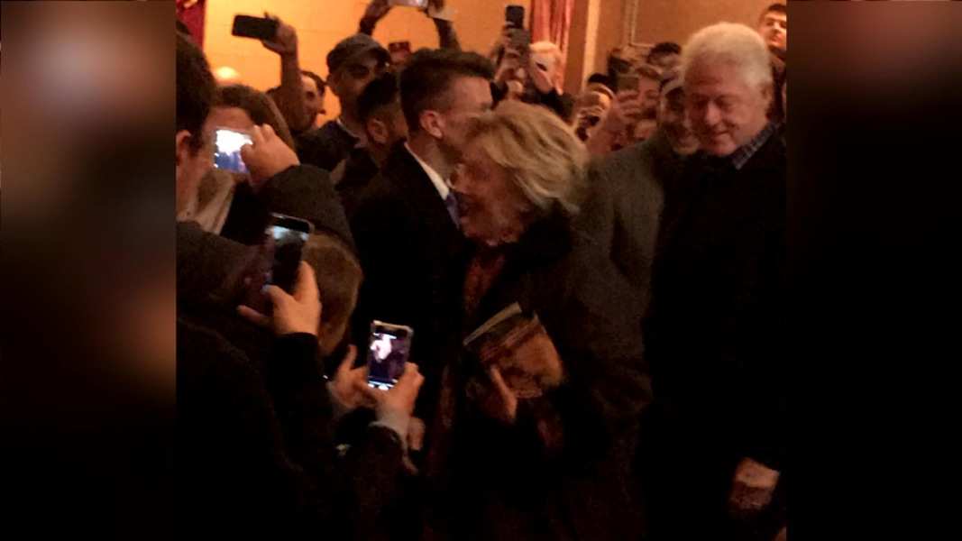 Hillary Clinton Gets Standing Ovation From Broadway Audience