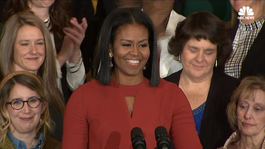 Full Video: Michelle Obama's Final Speech as First Lady