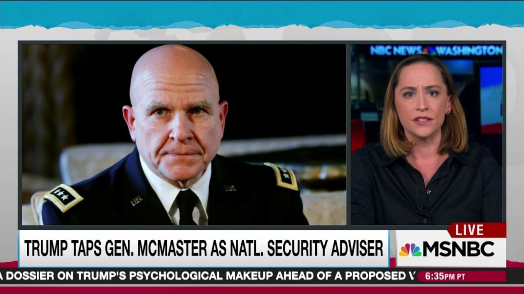 Trump names Gen. HR McMaster as National Security Adviser