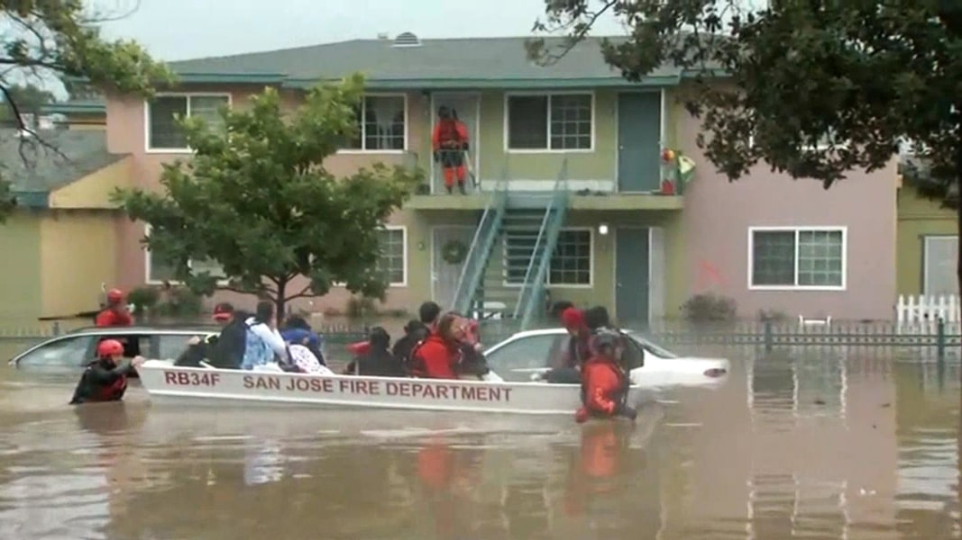 Second round of storms prompts more evacuations in