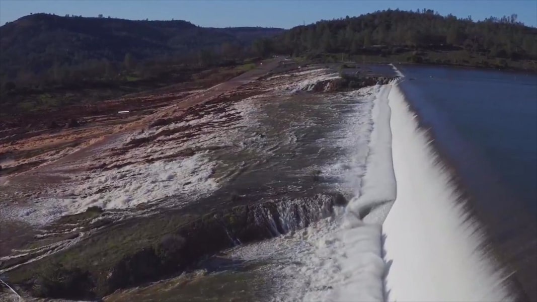 Work continues near dam, Oroville comes back to life
