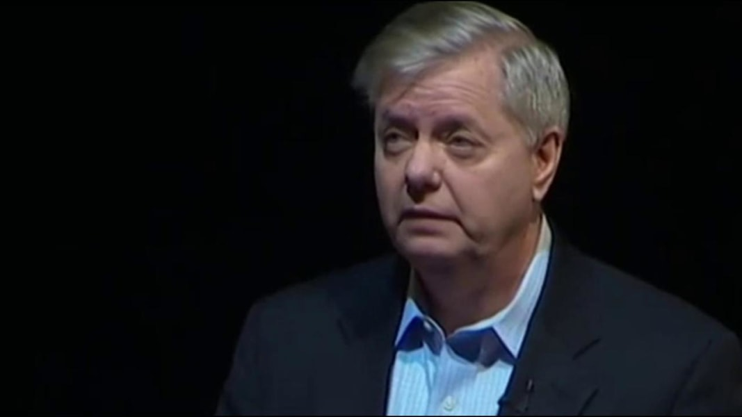 Graham quips: I gave Trump my new cellphone number