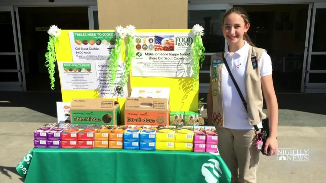 100 years of girl scouts cookie meet the all time sales