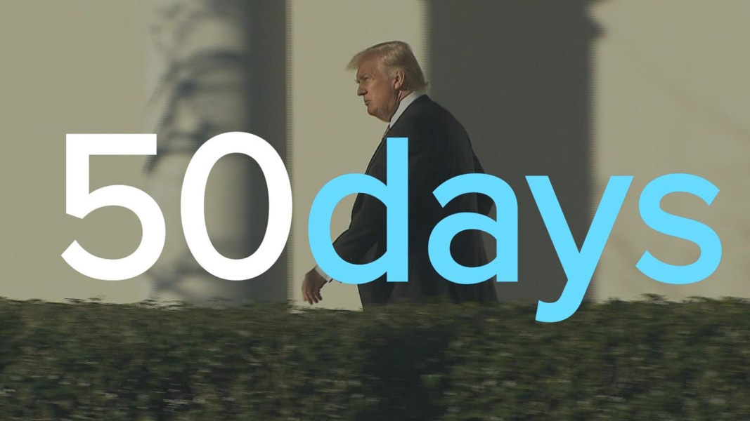 Image result for Trump in 50 Days