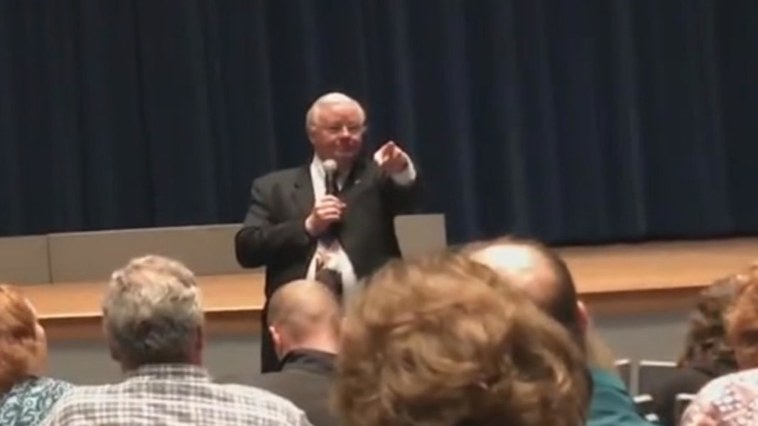 Texas Congressman Tells Man to 'Shut Up' at Town Hall Meeting