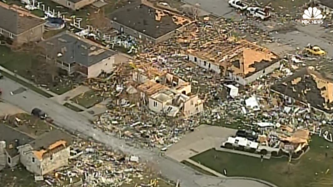 Severe Storms Rip Through Kansas City Missouri Nbc News