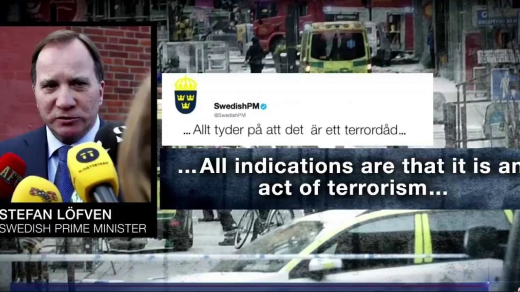 Image result for the truck attack in stockholm