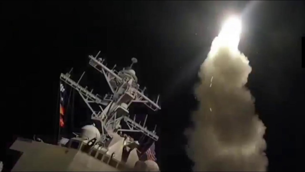 Russian, Iranian presidents denounce USA  strikes against Syria