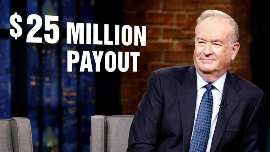 Bill O'Reilly to receive one year pay