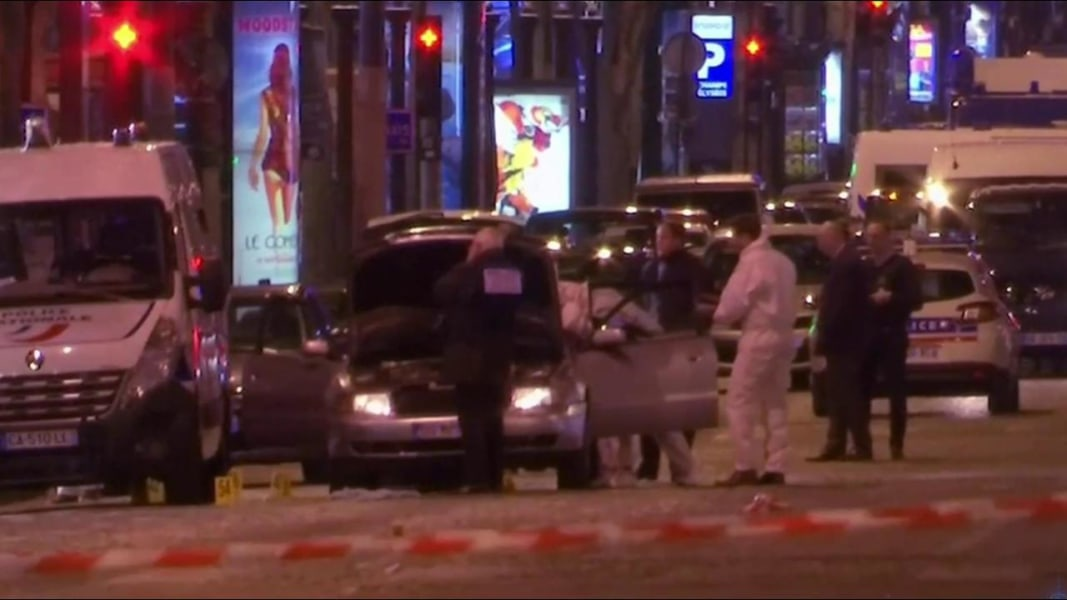 Islamic State claim deadly Paris shooting - one dead and several injured