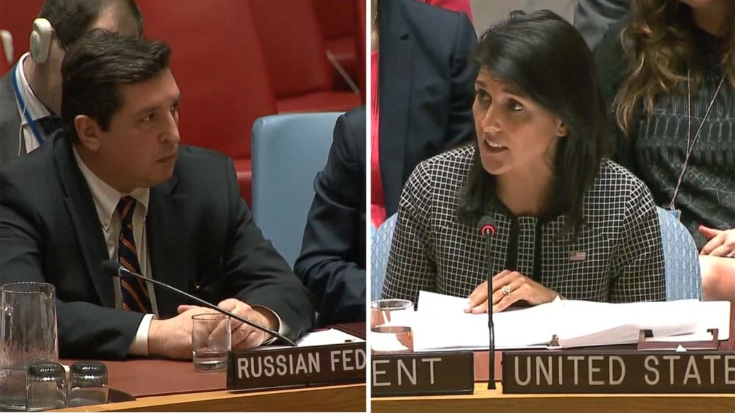 Russia Blocks U.N. Security Council Condemnation of Syria Attack