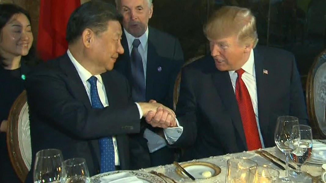 Image result for photos of president trump and chinese leader