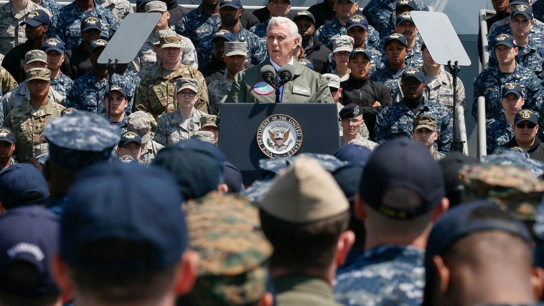 U.S. Defense Secretary Mattis addresses confusion over carrier