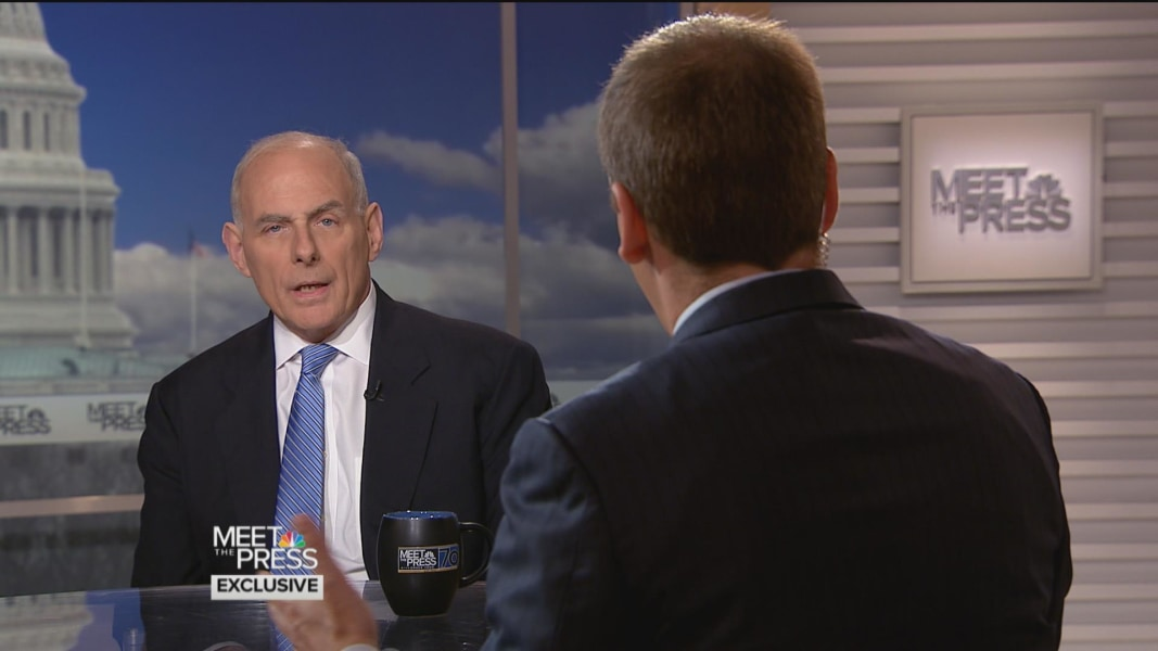 John Kelly says even 'single DUI' can start deportation process