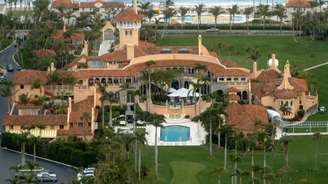 trump 39 s mar a lago travel triggers cost and ethics concerns nbc news