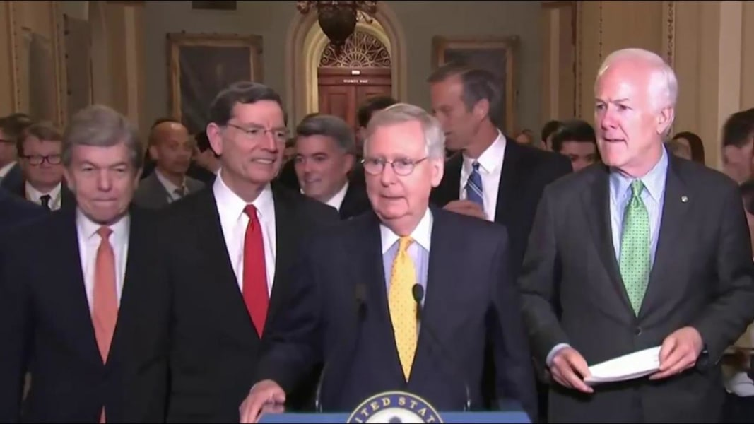 Senate Group Working On Health Care Has No Women