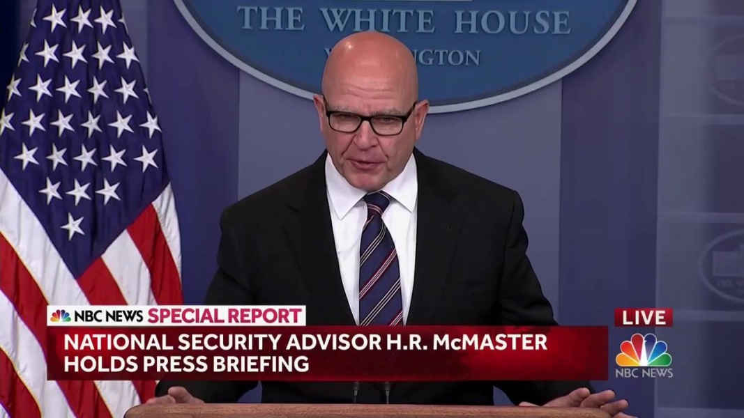 McMaster: Intel Trump Shared With Russia 'Wholly Appropriate'