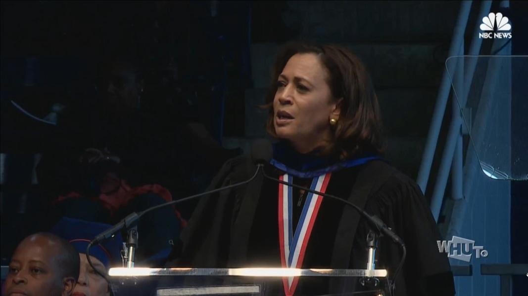 Sen. Kamala Harris, Daughter of Howard University, Comes