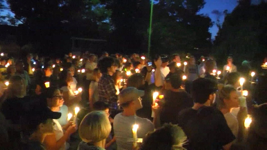 Galerry White Nationalist Leads Torch Bearing Protesters Against Removal of