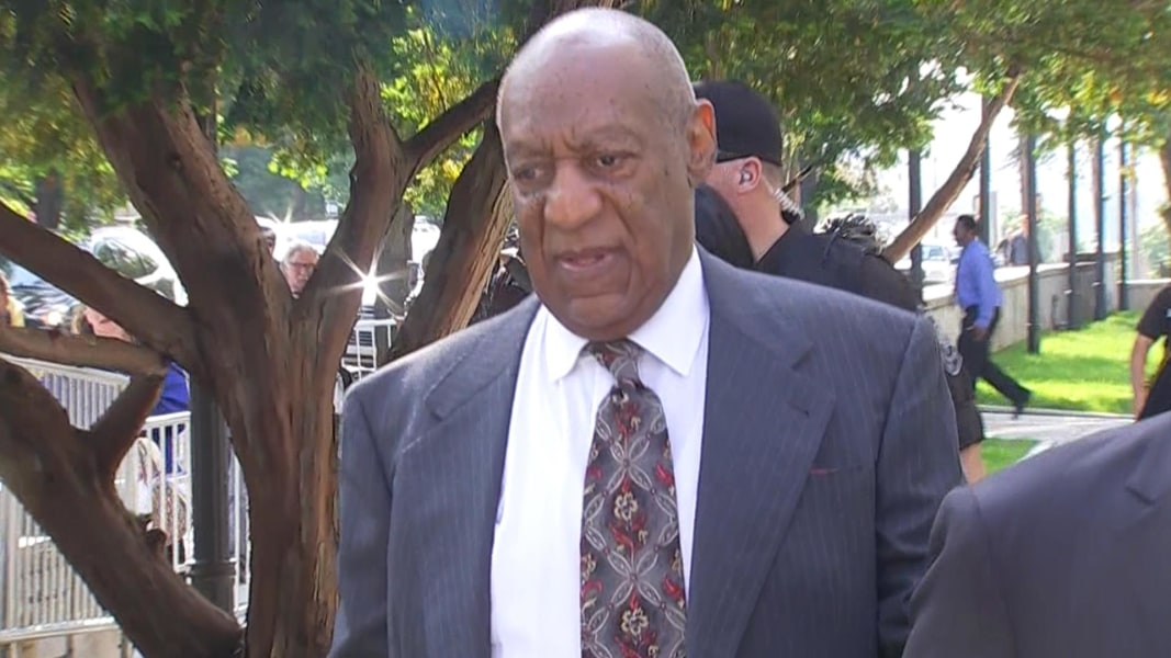 Bill Cosby arrives for Day 2 of jury selection