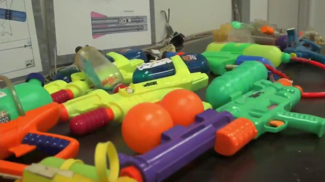 The Super Soaker Inventor Is Now Helping Young Engineers NBC News - This is the worlds biggest super soaker and it shatters windows