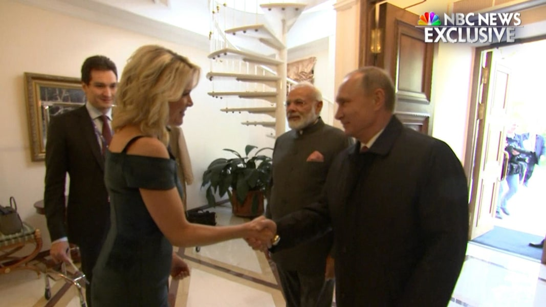 Megyn Kelly asked Indian PM Modi if he uses Twitter.