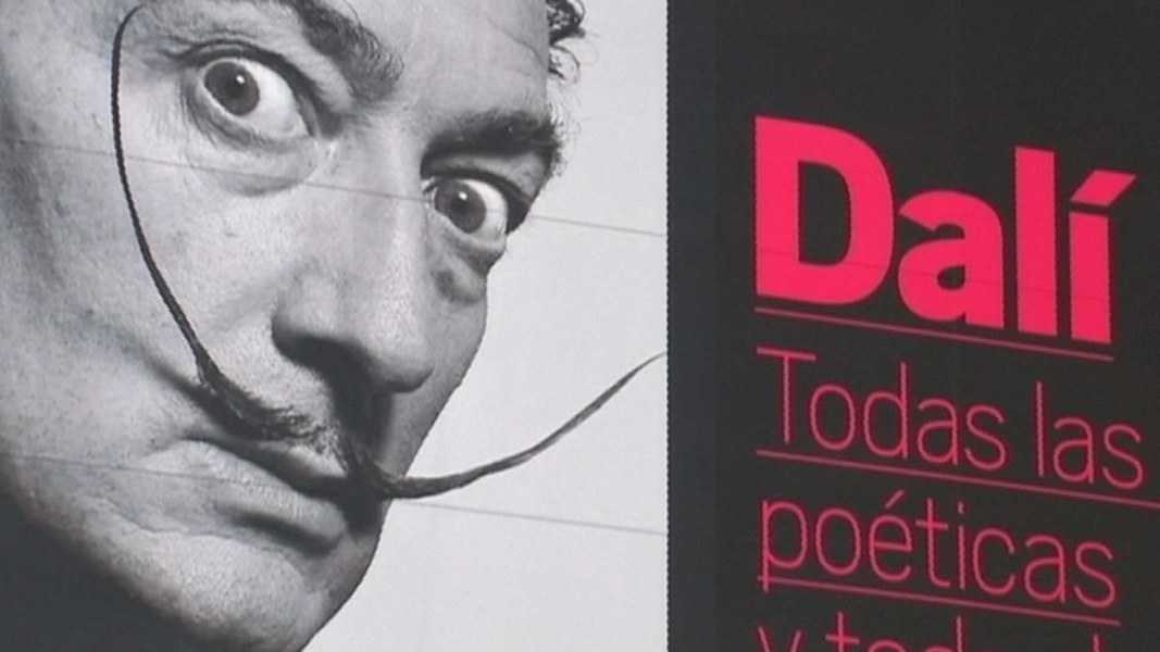 Salvador Dali exhumed in weird  court case