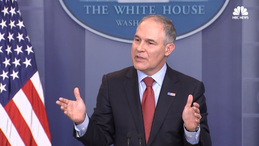 EPA chief makes frequent trips back to Oklahoma