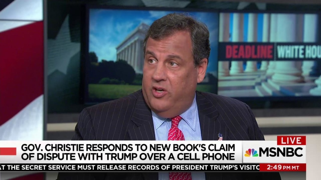 Christie says Trump Jr.'s meeting