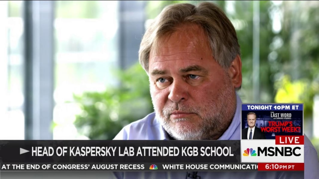 U.S. government bans use of Kaspersky software, citing Russian spy fears