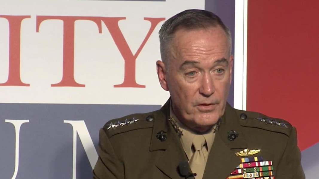 Tank Talk: One On One With Gen. Joseph Dunford