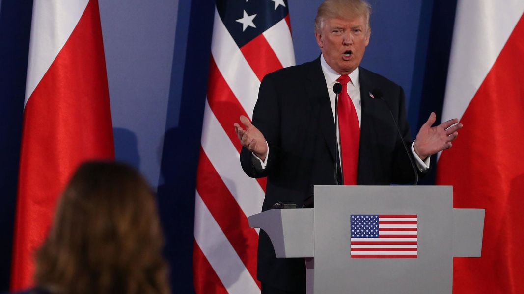Trump On Russian Interference In Election Nobody Really Knows