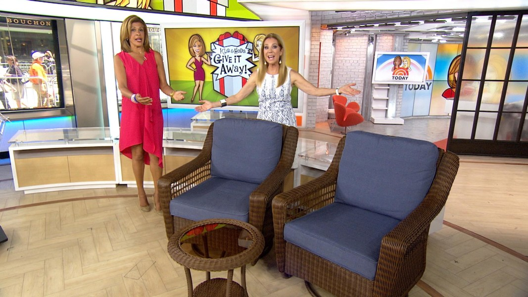 Give It Away: Lucky TODAY Viewers Win A 3 Piece Patio Set From The Home  Depot