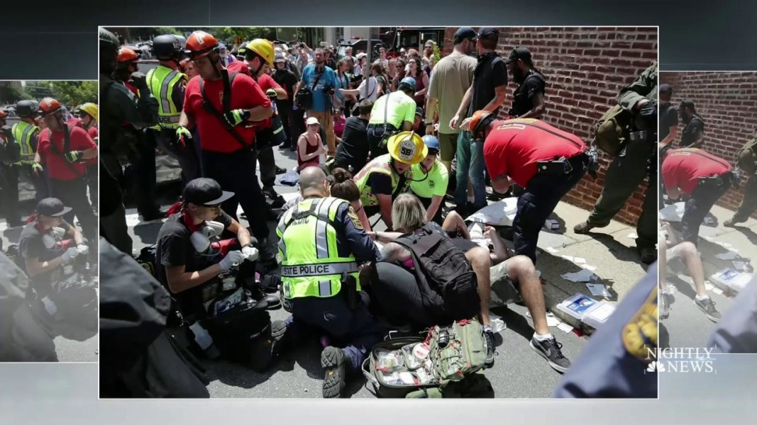 Pictures From Charlottesville Car Crash
