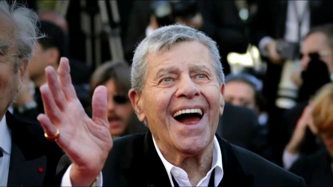 Jerry Lewis cut out all his six sons from first wife off his will