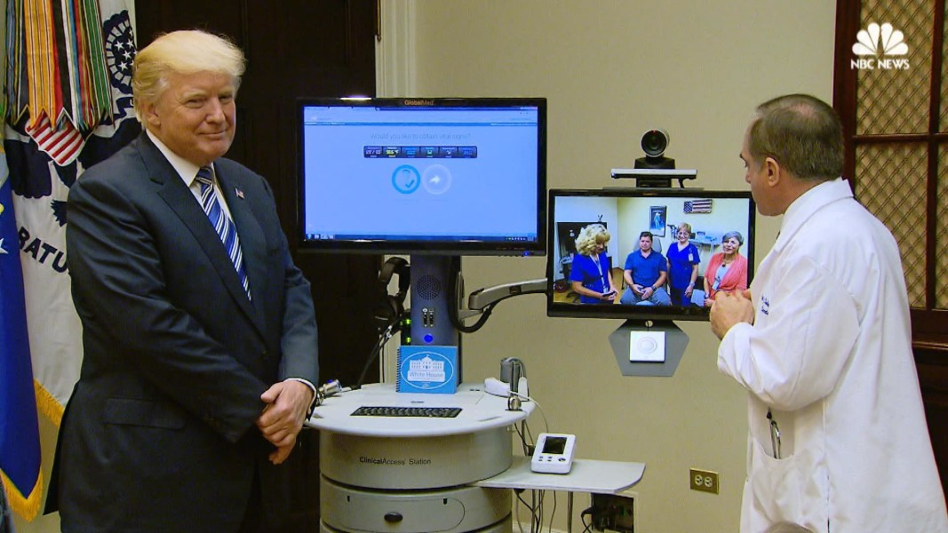 Trump administration rolling out new VA Telehealth Services