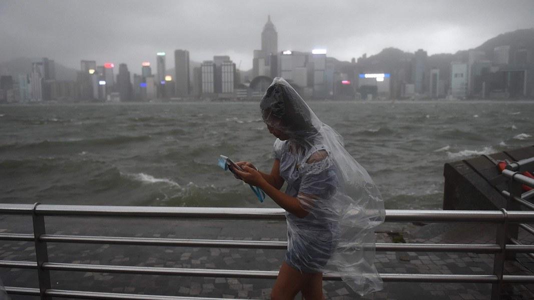 Typhoon Hato Slams Hong Kong With 95 Mph Winds