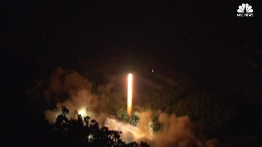 North Korea Fires Rockets At South Korea Island