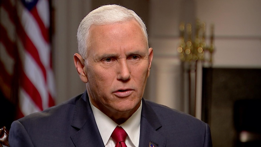 Pence: 'There Was No Moral Equivalency' Drawn By Trump