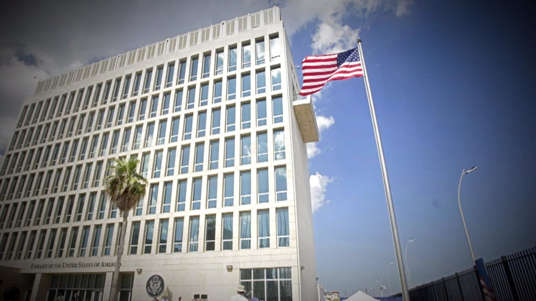 Acoustic Attack In US Embassy In Cuba Blamed For Diplomats - Us embassy niger map