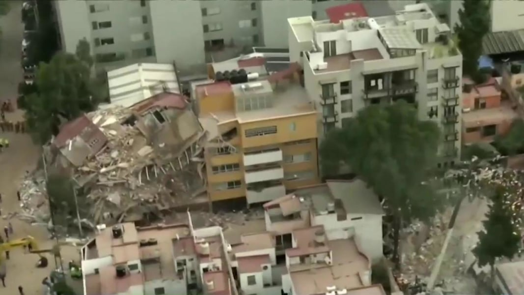 USAID deploys disaster assistance team for quake  in Mexico