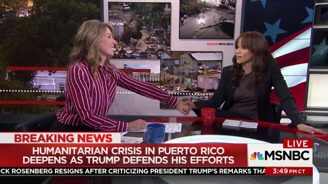 Trump and San Juan Mayor Exchange Nasty Tweets as Island Suffers